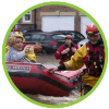 emergency services in a flood