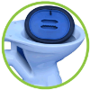 toilet bung flood protection