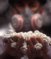 asbestos in empty homes