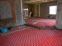 House renovations underfloor heating