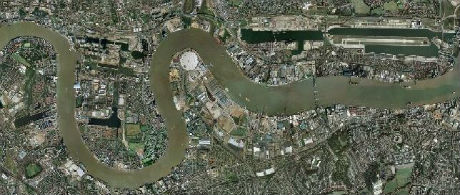 Flood risk insurance on the River Thames